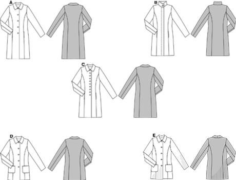 8292 burda schnittmuster mantel maschinensticken n hen schnittmuster silkes. Black Bedroom Furniture Sets. Home Design Ideas