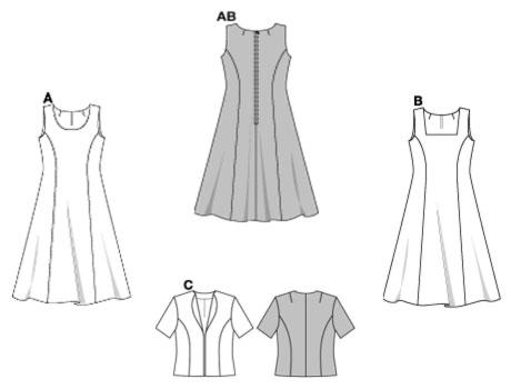 Schnittmuster fur ein kleid kostenlos