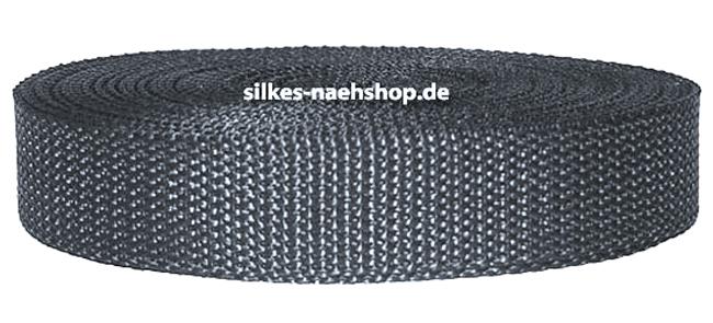 Produktfoto Gurtband 40mm dunkelgrau