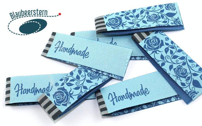 Handmade Label Rosengarten