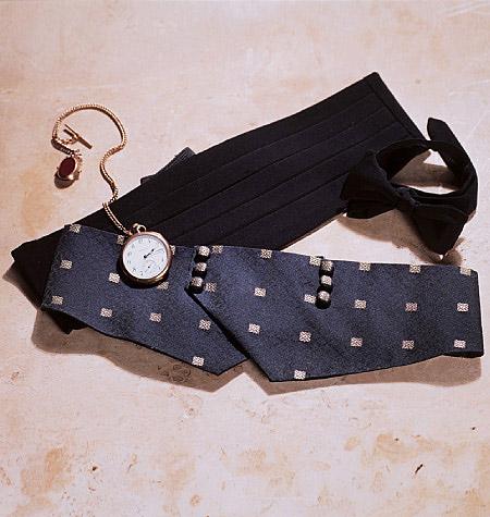 Schnittmuster Vogue 7104 Krawatte Kummerbund - Maschinensticken ...