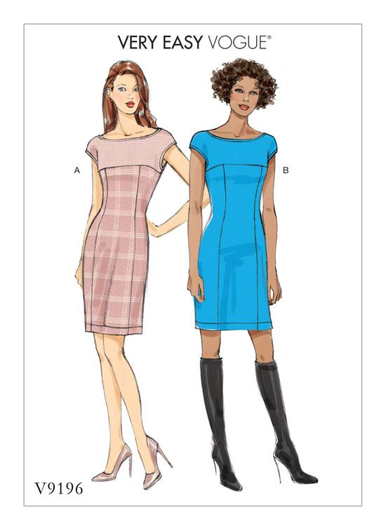 Schnittmuster Kleid Vogue 9196