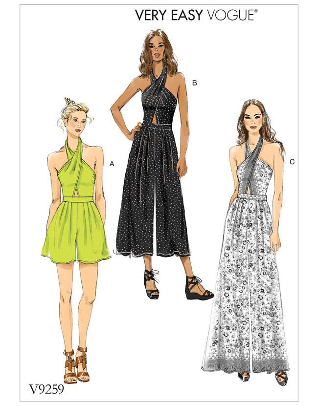Schnittmuster Kleid Vogue