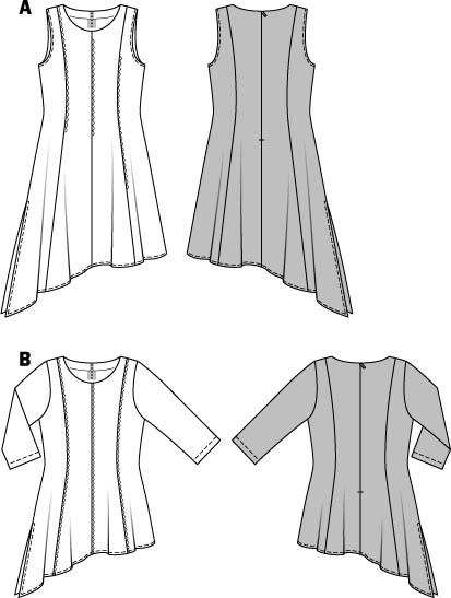 Schnittmuster kleid kostenlos groe groen