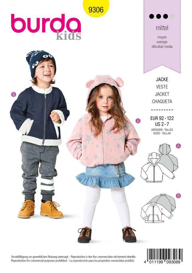 Schnittmuster Kinder Burda 9306