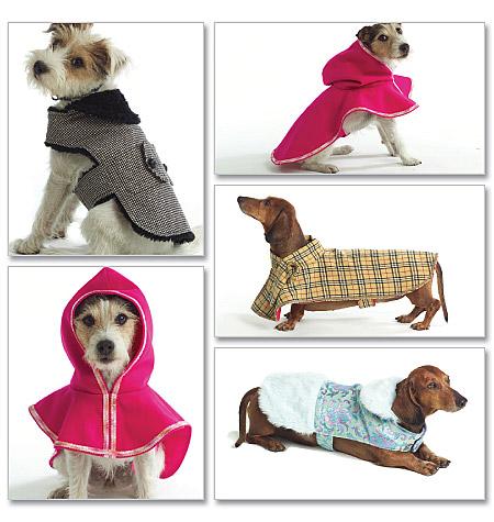 Schnittmuster Hundebekleidung Butterick B4885 - Maschinensticken ...