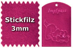 Stickfilz 3mm
