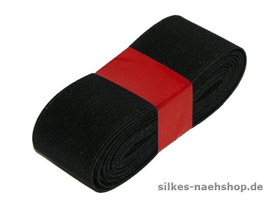 Gummiband schwarz 30mm