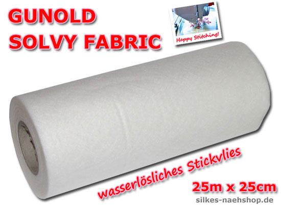 Produktabbildung Solvy Fabric Stickvlies wasserlöslich