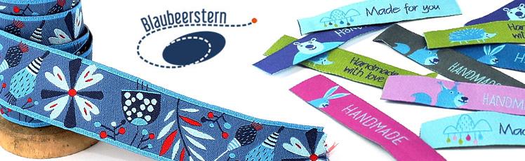 Webbänder, Bänder und Handmade Labels zum Nähen!
