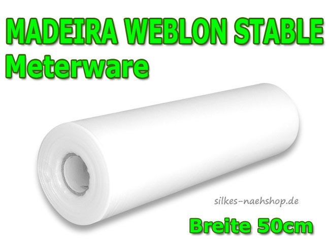 Stickvlies Madeira Weblon Stable