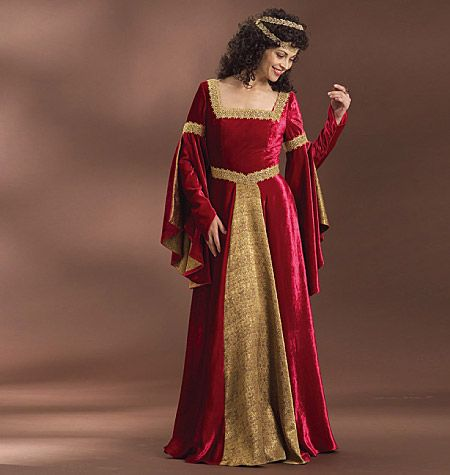 B4571 Butterick Schnitt historisches Kleid