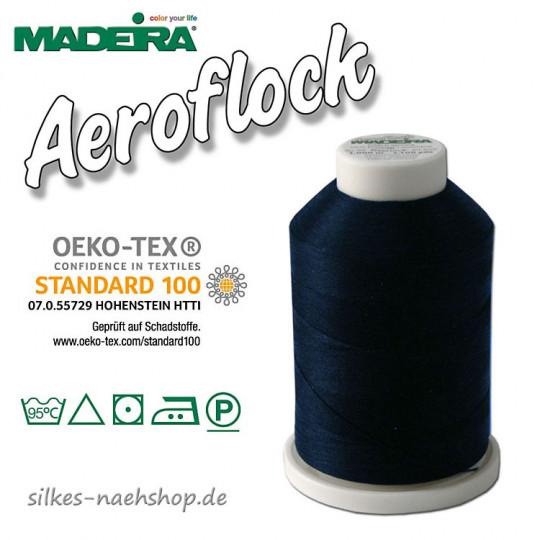 Madeira Aeroflock Bauschgarn marine 1000m
