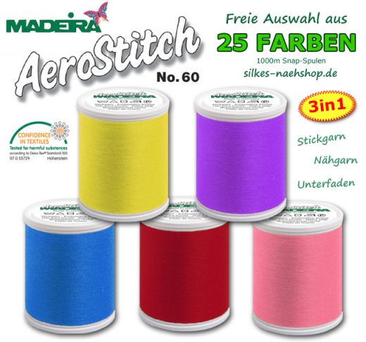 Madeira Aerostitch Stickgarn 1000m