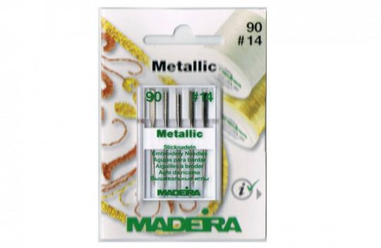 MADEIRA Metallic Sticknadeln