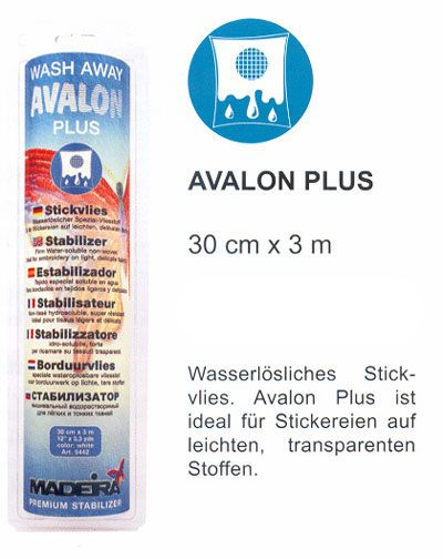 3m MADEIRA Stickvlies Avalon Plus incl. Box
