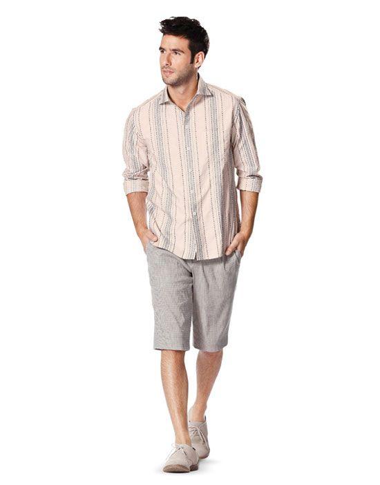 7045 Burda Style Schnittmuster Hemd