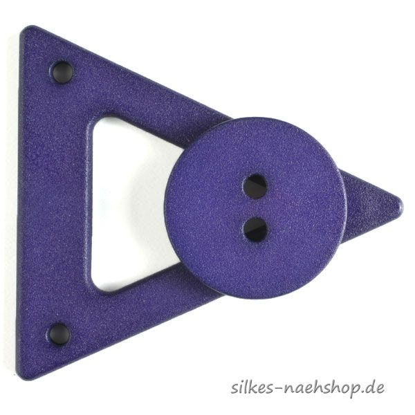 Mantel- & Jackenverschluß lila 65mm