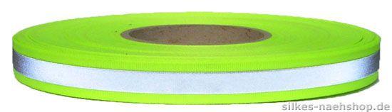 Reflektorband gelb 20mm