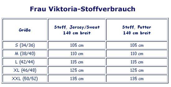 Schnittmuster farbenmix Weste Frau Viktoria - Maschinensticken ...