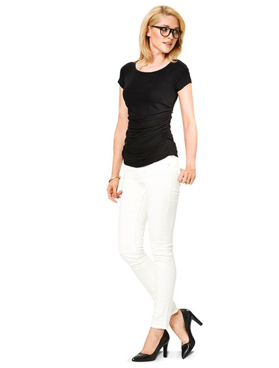 6910 Burda Schnittmuster Shirt Kleid SUPER EASY!