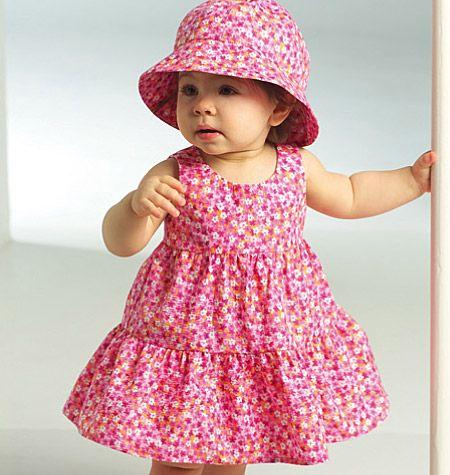 B5017 Butterick Schnittmuster Babykombi EASY!