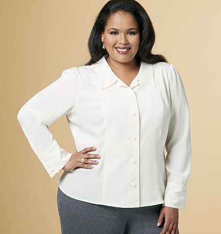 B5538 Butterick Schnittmuster Bluse