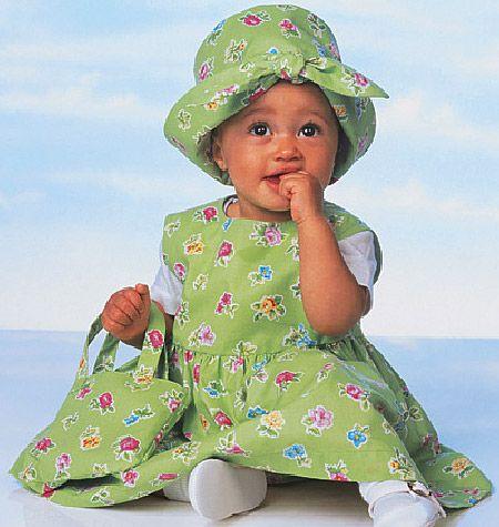 B5624 Butterick Schnittmuster Babykombination
