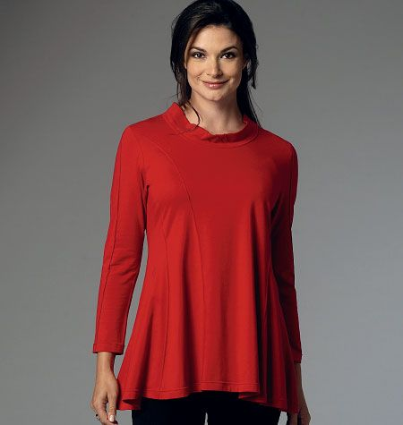 B6136 Butterick Schnittmuster Designer-Shirts