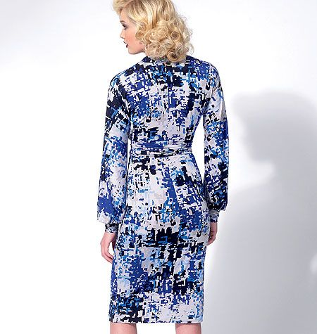 V8825 VOGUE Schnittmuster Kleid Tunika Hose EASY!