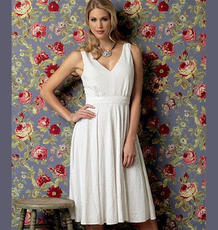 V9053 VOGUE Schnittmuster Kleid Abendkleid EASY!