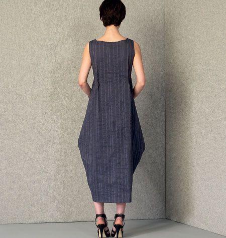 V1410 VOGUE Designer Schnittmuster Kleid Mizono