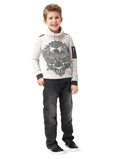 9407 BURDA Schnittmuster Kinder-Sweater EASY!