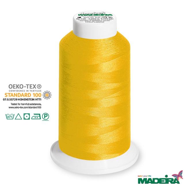 2500m Madeira Aerolock Overlockgarn gelb