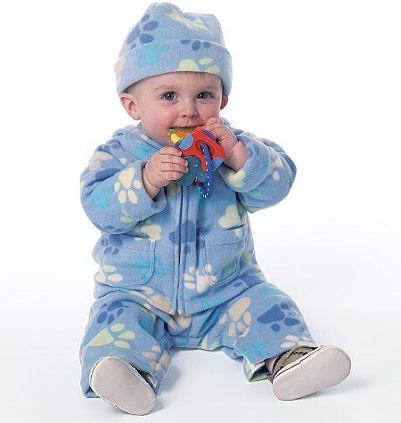 B6238 Butterick Schnittmuster Babykombination