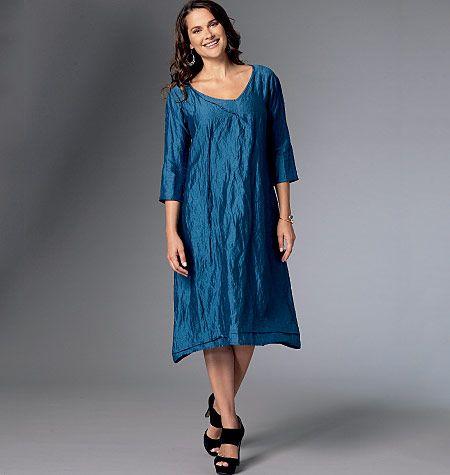 B6283 Butterick Schnittmuster Kleid