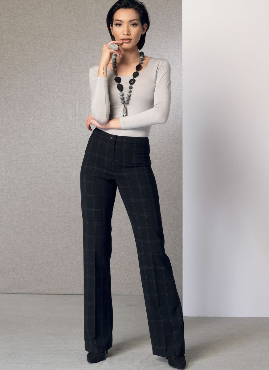 V9181 VOGUE Schnittmuster Bootcut Hose EASY!