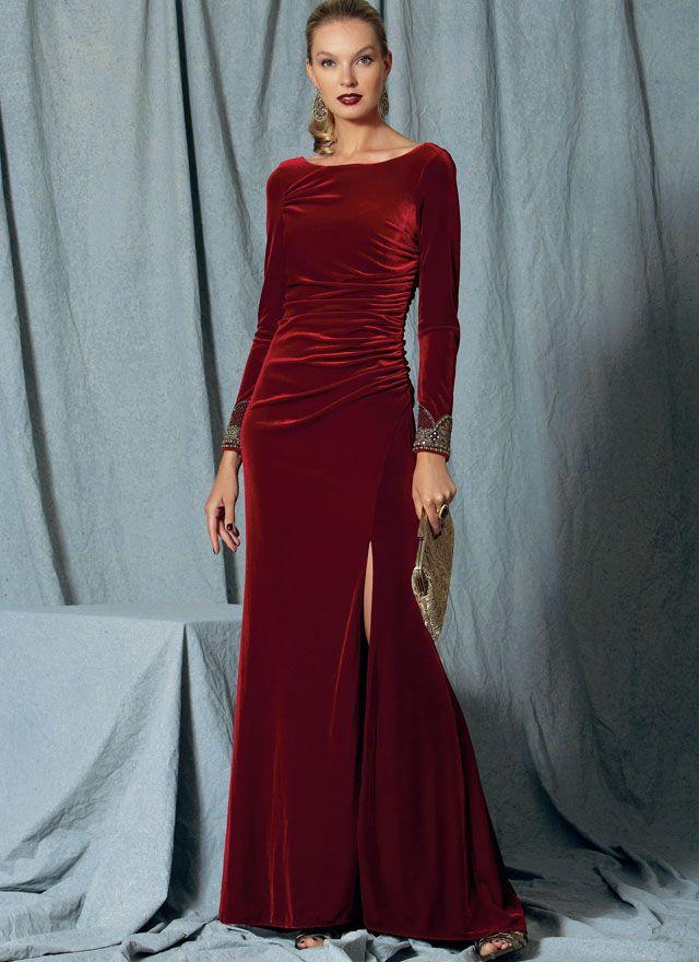 VOGUE Designer Schnittmuster Abendkleid 1520