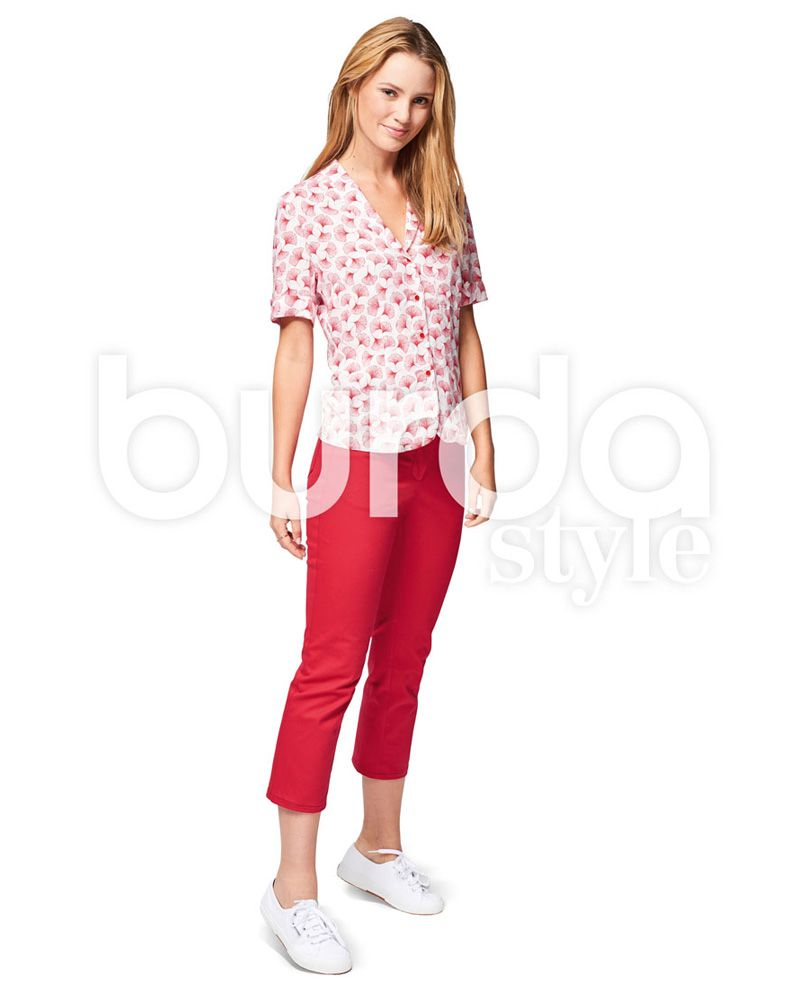 6534 Burda Schnittmuster Hose Jeans