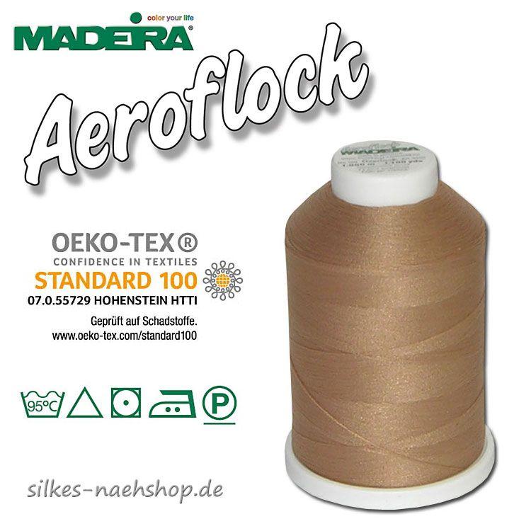 Madeira Aeroflock Bauschgarn beige 1000m
