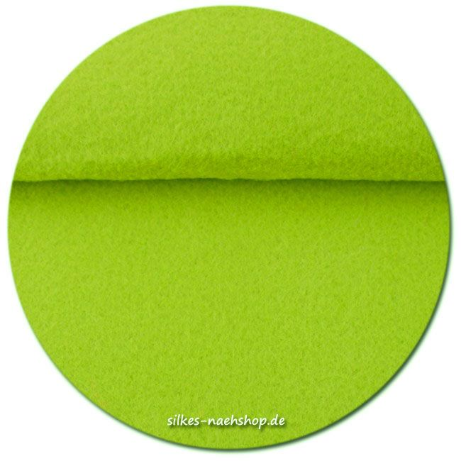 Filz Stickfilz 3mm lime 20cmx100cm