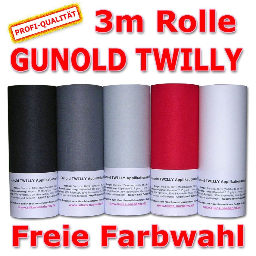 Gunold TWILLY - 3m Rolle