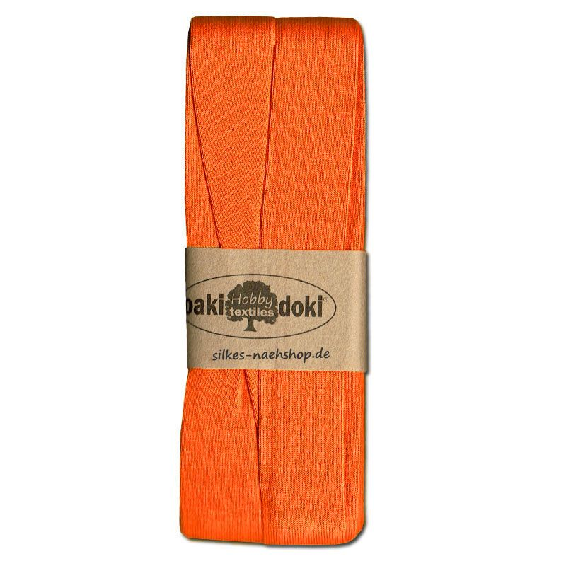 3m Jersey-Schrägband 20mm orange