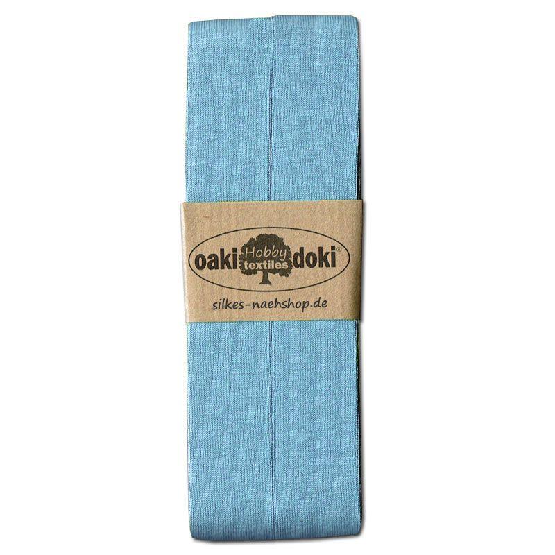 3m Jersey-Schrägband 20mm hellblau