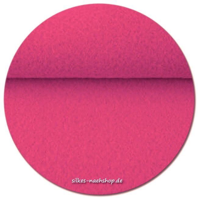 Filz Stickfilz 3mm pink 20cmx100cm