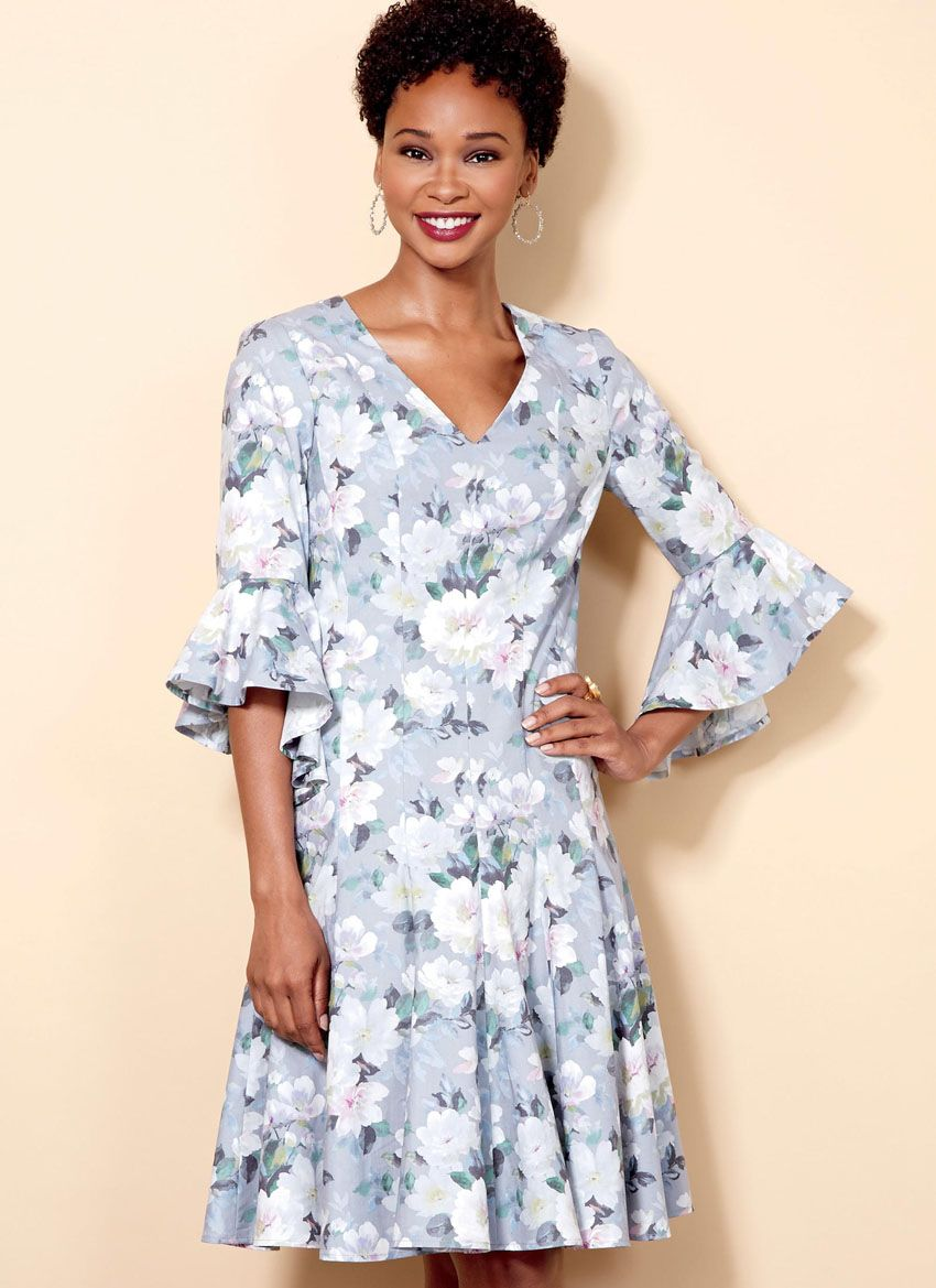 B6514 Butterick Schnittmuster Kleid