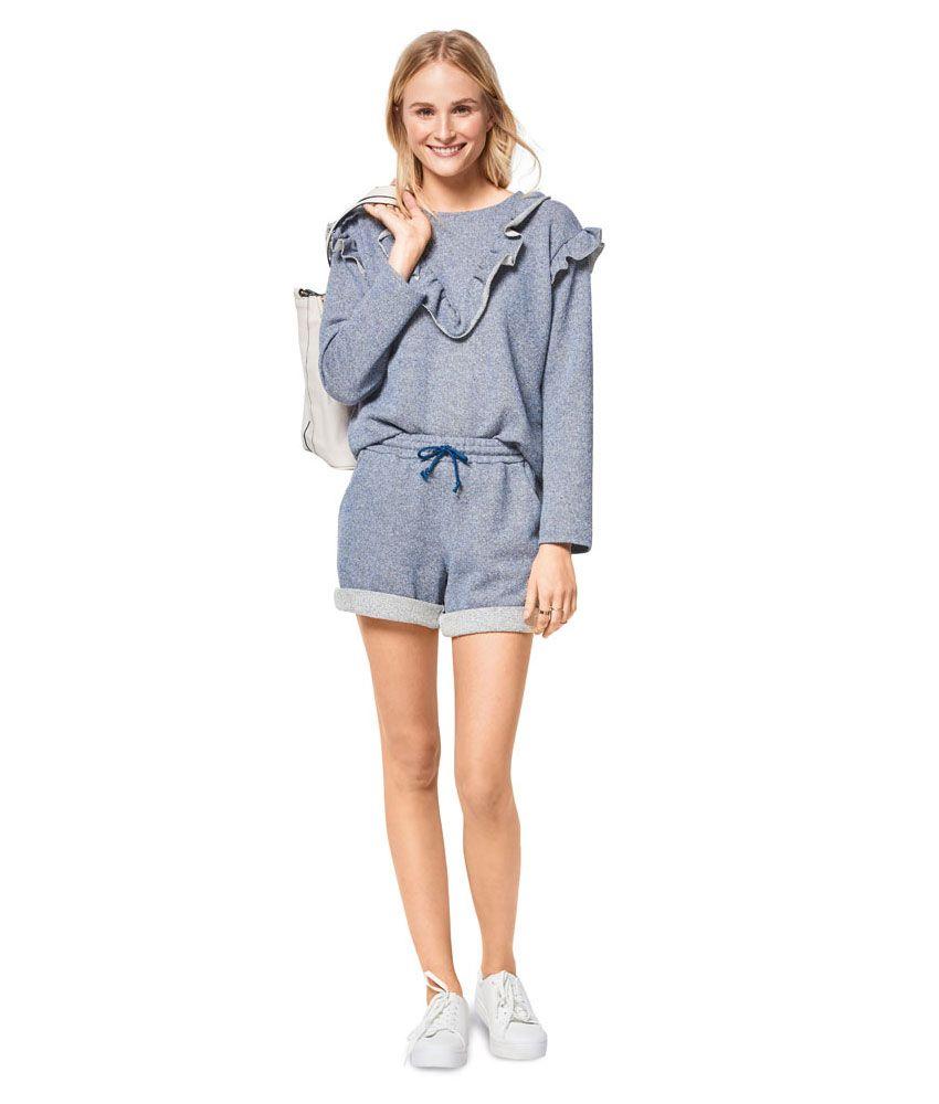 6406 Burda Style Schnittmuster Sweater Hoodie