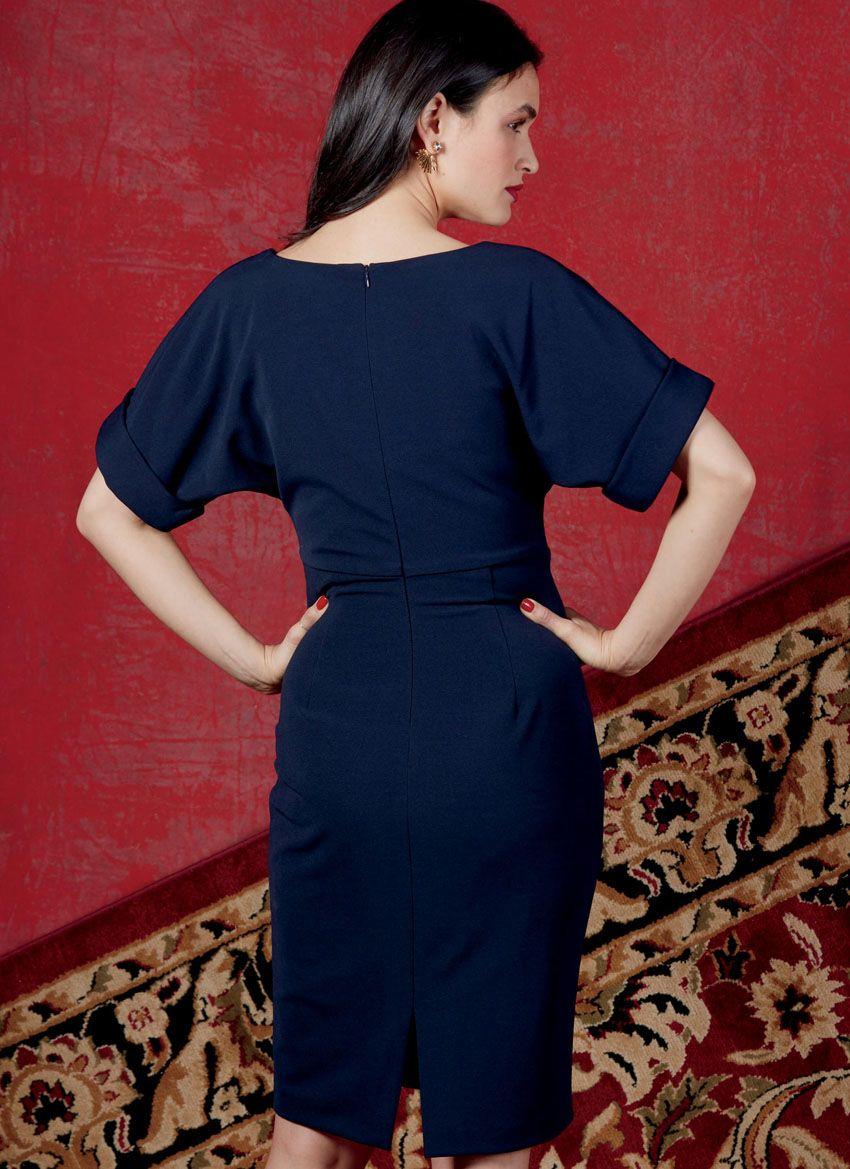 V1595 VOGUE Schnittmuster Designer Jerseykleid