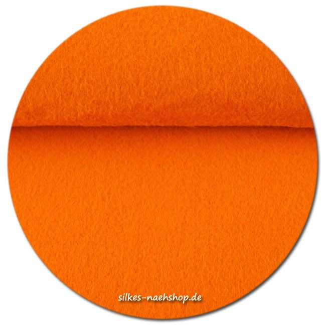 Filz Stickfilz 3mm orange 20cmx100cm
