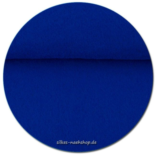 Filz Stickfilz 3mm royalblau 20cmx100cm